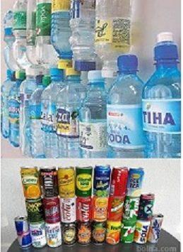 Minkina navodila za ločeno zbiranje plastenk in pločevink