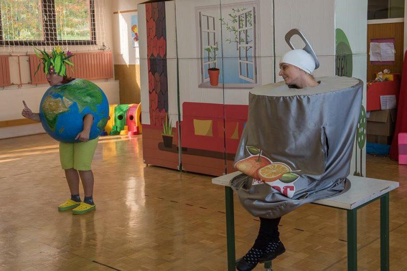 Minka Pločevinka v zasavskih vrtcih in šolah