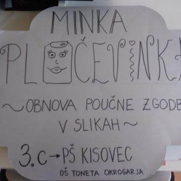 Otroci ustvarjajo Minko Pločevinko