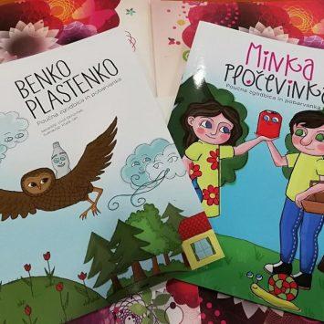 Benko in Minka nagrajujeta